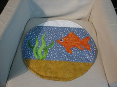 Fishbowl cat quilt29