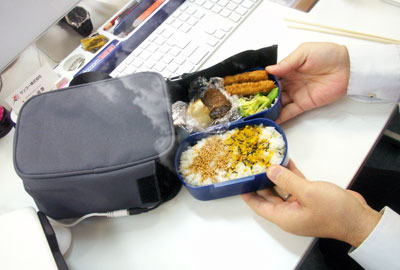 USB bento warming bag