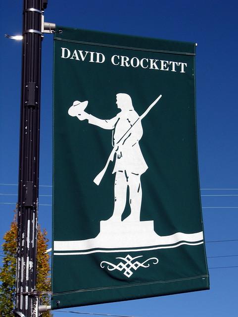 Davy Crockett banner