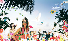 ClubMed - Soleil (iconographic) Tags: illustration ads advertising graphicdesign conception artdirection clubmed publicis iconographic nicolasermakoff ermakoff