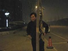 090209正月十五 09 今年看到最厉害的炮 (保鲜罐) Tags: video beijing 北京 春节 g9 烟花爆竹 元宵节 正月十五 安贞