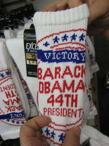 Barack Obama 44th President Socks