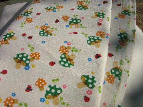 Magic mushroom fabric