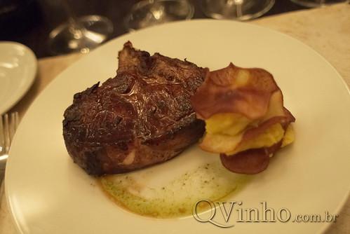 Lomo de cerdo - Restaurante da Bodega O.Fournier