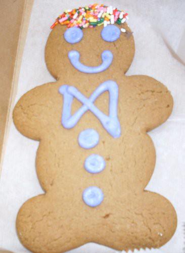 Gingerbread Man from Casa Linda Bakery