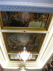 Ceiling in the Ballroom of the Dublin Castle