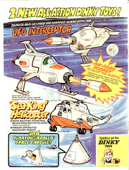 from the pages of Countdown (modern_fred) Tags: space ufo doctorwho sciencefiction drwho 1970s countdown shado dinky meccano diecast gerryanderson dinkytoy