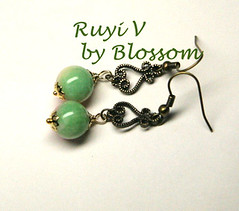 ruyi-v  earrings