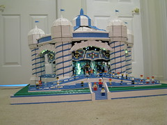 Merry-Go-Round With Lights On (AB Quest) Tags: lego carousel merrygoround foitsop