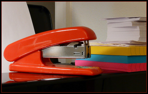 Don't Mess With My Red Stapler