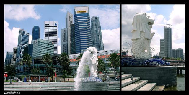Merlion-Park-Singapore-city