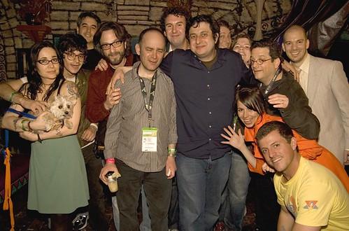 Comedians at SXSW 2009