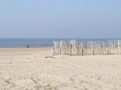 Sandy beach at Zandvoort
