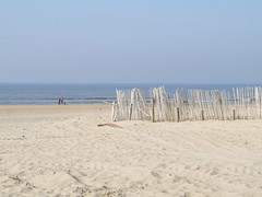 Sandstrand in Zandvoort