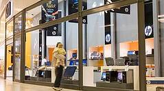 La primera HP Store en Argentina, abierta en agosto de 2008, fue la segunda en el mundo.