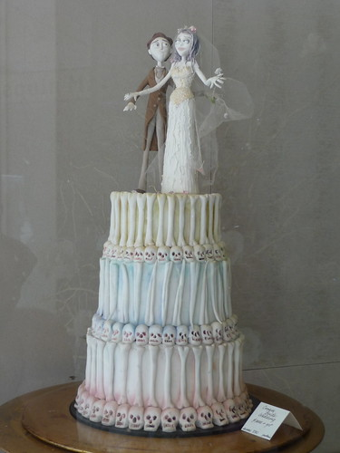 Corpse Bride Cake originally uploaded by brixtoncat