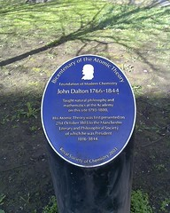 Photo of John Dalton blue plaque
