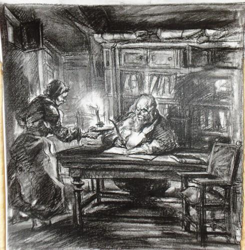 020-Pérez Vigo-Dibujo boceto