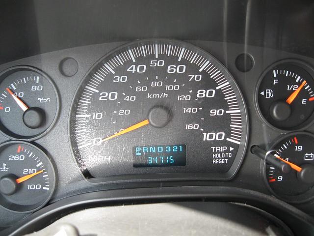 chevrolet work cargo hd express van 2500 2007