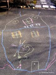 Haunted House: From the Sidewalk Chalk Art Series