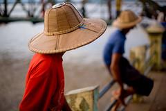 IMG_7686 Hats (Swiatoslaw Wojtkowiak) Tags: hat asia southeastasia burma monsoon myanmar fareast birmanie  birmania mawlamyine easternburma