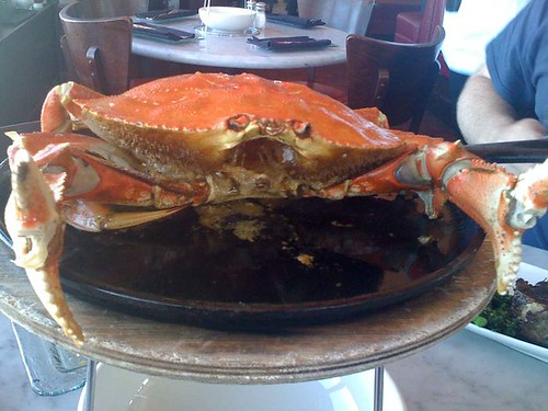 Franciscan in San Francisco - Whole Garlic Crab