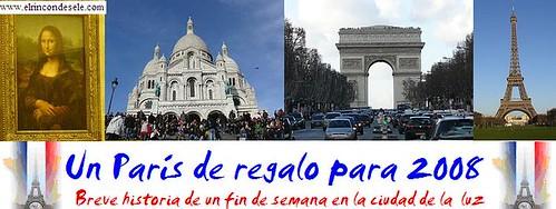 Banner Paris 2008 por ti.