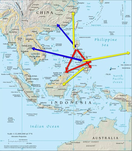 trade and influence philippines