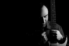 B & W (Moe.Mousavi) Tags: bw me iran guitar persia 2009 ibanez atelier omid terhan    pourazar