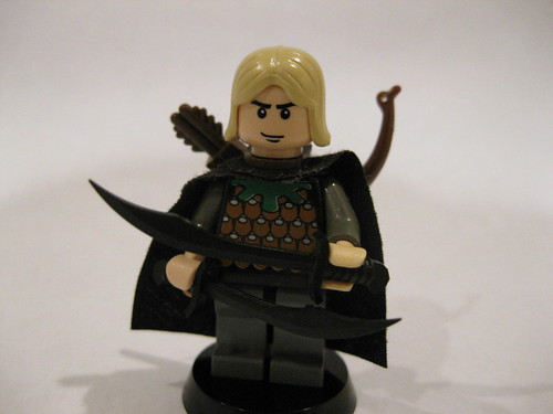 Leo the Elven Archer custom minfig