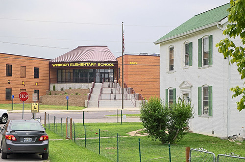 Windsor Elementary School, in Kimmswick, Missouri, USA