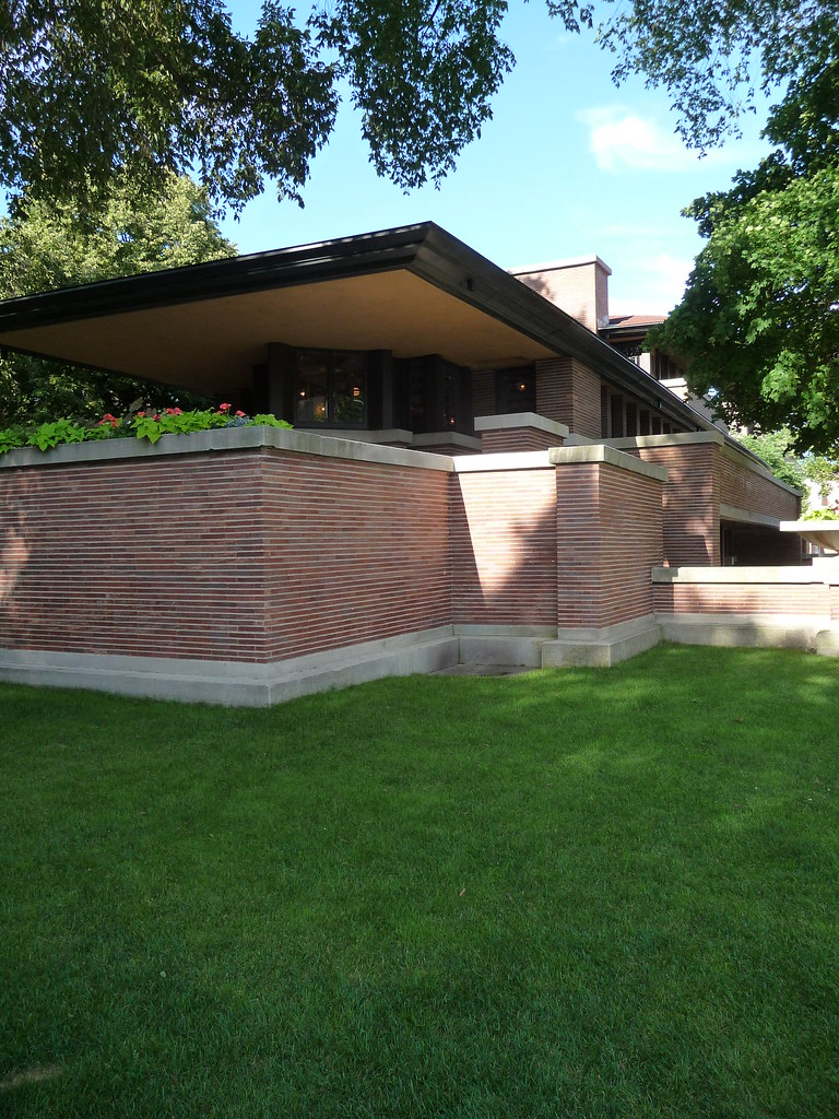 Robie House Porch