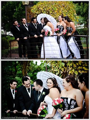 Pamela & Adam Wedding - The Bridal Party