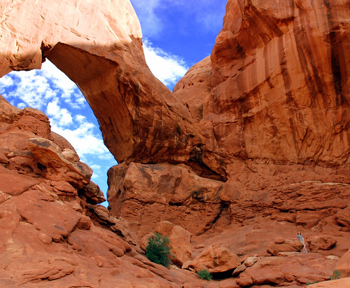 Exploring under Double Arch