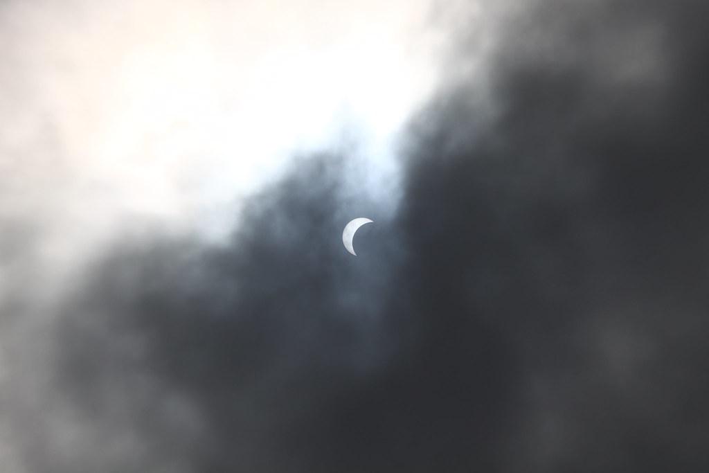 solar eclipse at Guam
