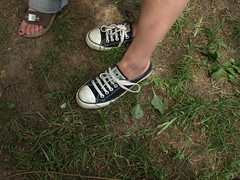 (Azure and Rai's Twisted Art Photography) Tags: boy cute male eye feet girl face hat female self wow mouth children fun foot shoe cool eyes shoes funny pretty child awesome gal converse chucks tennisshoe