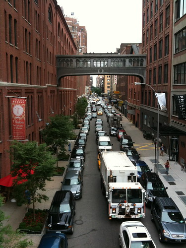 Side street from High Line Park