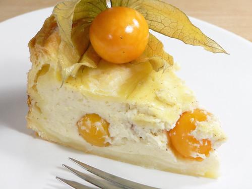 Joghurt-Physalis-Kuchen