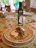 Pasta con ricotta, fave, and Biancolilla
