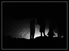 Moghaan Cave   (Naseh Andarzgoo) Tags: light shadow blackandwhite bw white black silhouette canon flickr gathering cave mashhad  khorasan          sx100is  khorasanerazavi  nasehhosseini     andarzgoo  upcoming:event=4128164 moghaan