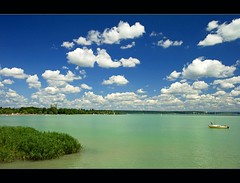 Balaton 2009 (Botond Horvth) Tags: world city travel blue summer vacation sky cloud lake green tourism nature water season relax landscape interesting nikon europe hungary peace yacht weekend famous august harmony polar nikkor 2009 balaton espritu cokin d90 botond horvth balatonalmdi 1685mm