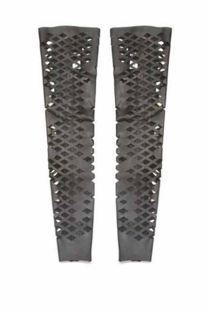 Rodarte Leather Cut-out Thigh-highs 3