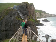 On the Carrick-a-Rede Bridge