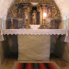 Salvator kápolna, oltár