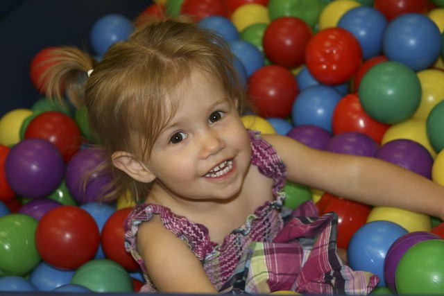 Joss in the Ball Pit