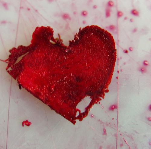 beet[ing] heart