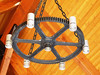 Hammer Chandelier 3 (jcurtis4082) Tags: light hammer diesel drum detroit gear chandelier erie liner bucyrus 88b 8v92