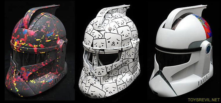 c0222521cbbc4c Wish Upon The Stars Clone Trooper Custom Helmets On Auction Now (Bids  Ending Aug 29)