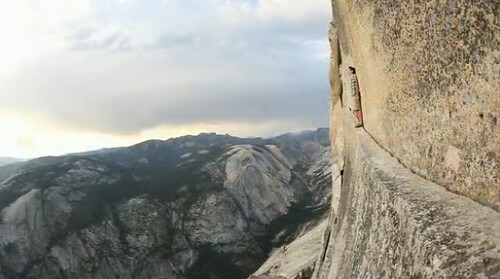 Alex Honnold on Half Dome. Photo by Sender Films | Flickr - Photo ...