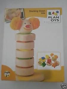 Plan Toy Stacking Clown - $22